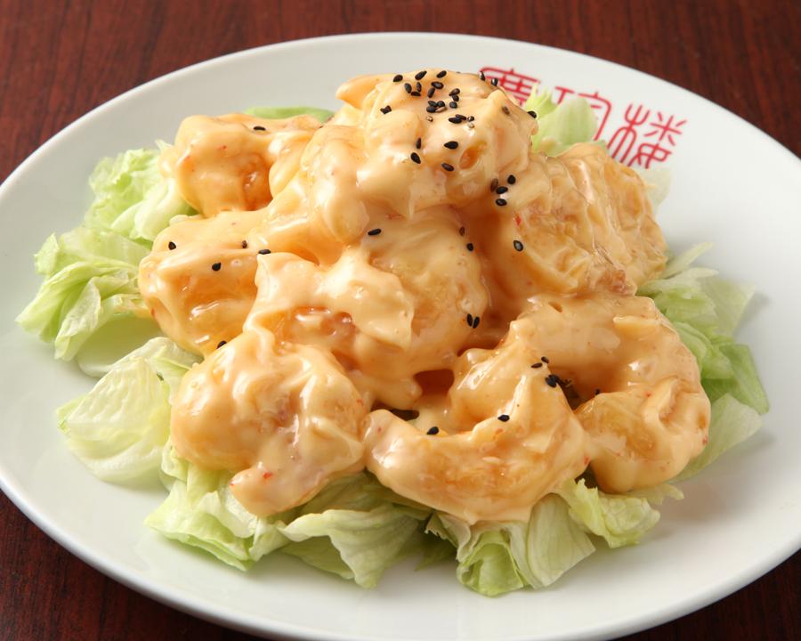 Great shrimp Mayo