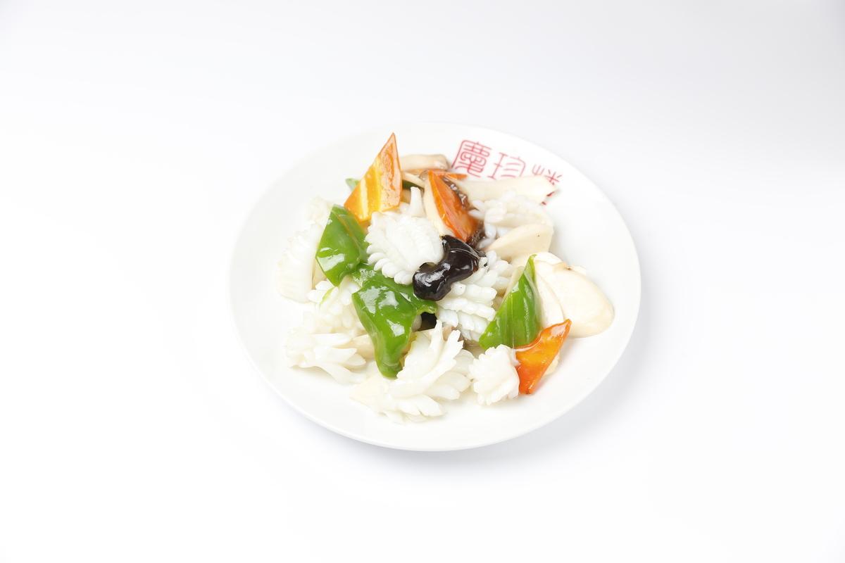 三個海鮮炒菜