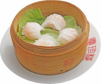 Four shrimp dumplings