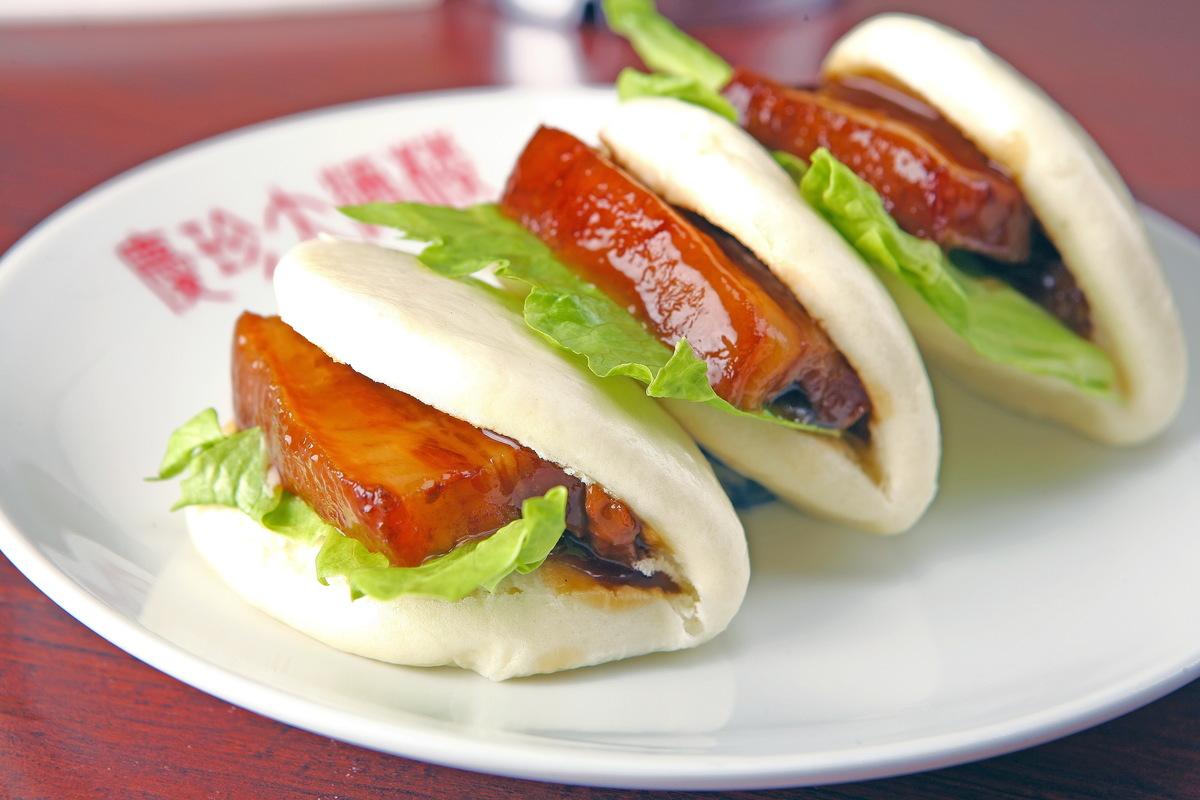 4 pork belly boiled buns