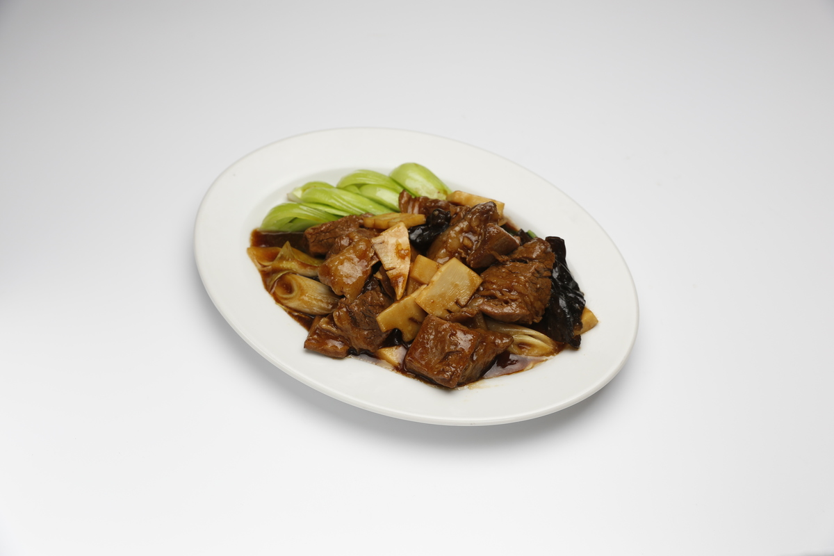 紅燒牛肉烤醬油