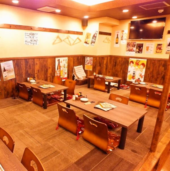 "【Head office】 I watch soccer and sports watching in the middle of the night, but I can always watch it with a noise in the morning ♪ I'm going to make a fuss about everyone at ""Yuma"" equipped with large TV! 1 minute walk from the station Because it is a location, secretary is safe ★ Please feel free to drop in anytime ♪ There are also private rooms that can be stored after 10 names! ※ For details please contact the store"