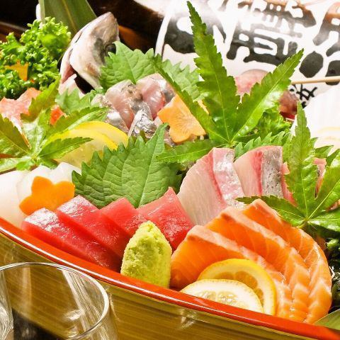 Fresh fish prejudice on a daily basis at the boat! 【Today's fresh sashimi】