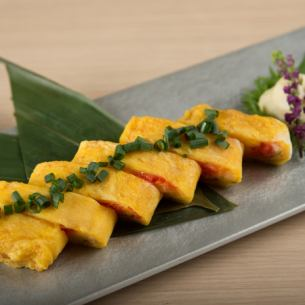 Mentaiko cheese thick grilled egg