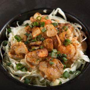 Salt horumonyaki garlic flavor