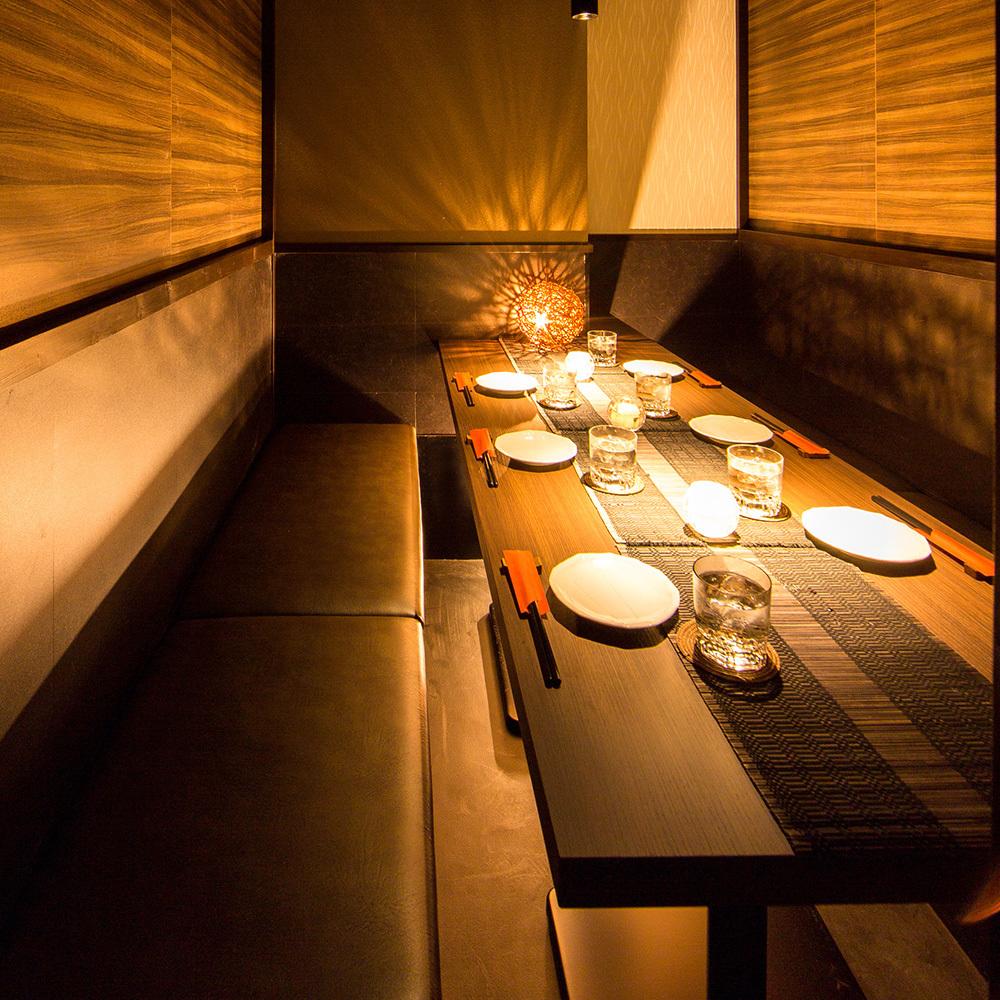 這是一個充滿溫暖的木頭的私人房間,很容易用於公司宴會·飲料·鑼等。◎在平靜的私人房間品嚐非凡的美食總和是非凡♪如果它是一個私人房間派對而不用擔心,請來我們的商店!