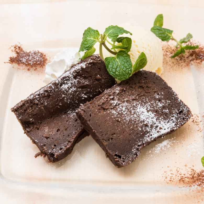 Terrine of chocolate