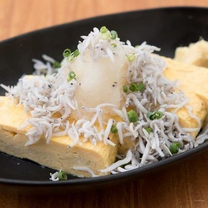 Shiratoru bukkake juice roll wrapped egg
