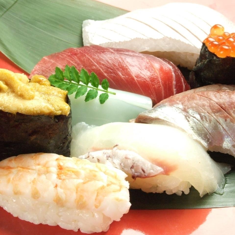 특상 초밥 모듬 (성게 · 아무리 세트)