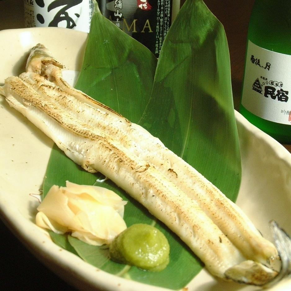 Egg-white grilled / tempura / boiled