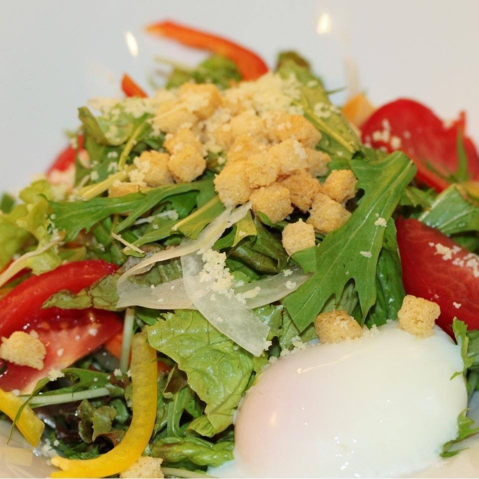 Caesar salad plenty of cheese