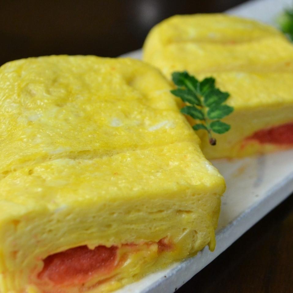 Dashi rolls egg