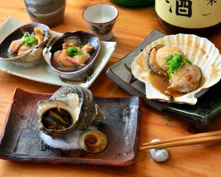 매일 매입 제철 생선을 구우면 · 튀김.