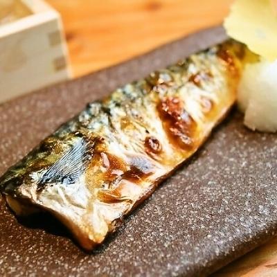 鯖魚鹽烤鹽
