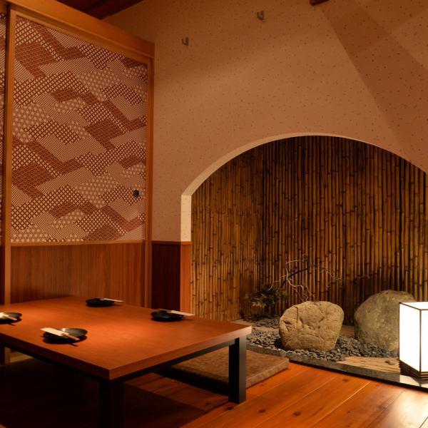 【新泻站南分钟步行5分钟】日本情感室内空间非常适合饮酒派对和女孩社会♪完整的带门的私人房间也适合公司宴会/饮酒派对!如果新泻站南口的饮酒派对是工匠!