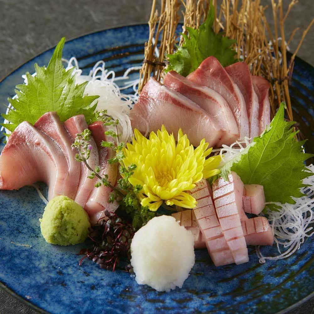 생선의 생선회 3 종 모듬