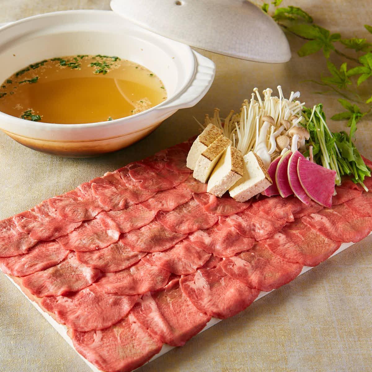 쇠고기 샤브샤브 ~ 소금 국물 or 백탕 국물 ~