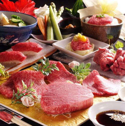 【Specialty course】 Only dishes all 12 items ★ 10000 yen (tax excluded) + 1500 yen with all you can drink!