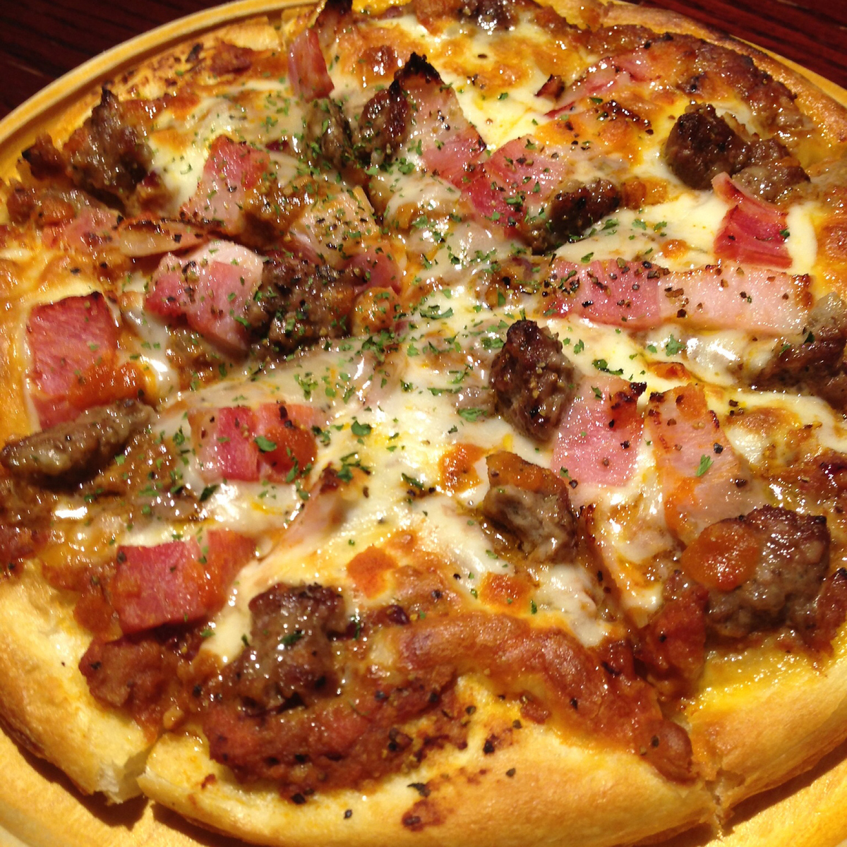 Daily 【Meat】 Pizza