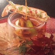 【Dinner】お肉&お魚のWメイン!京野菜など旬食材を使用した贅沢な季節のキュイジーヌ◆全7品