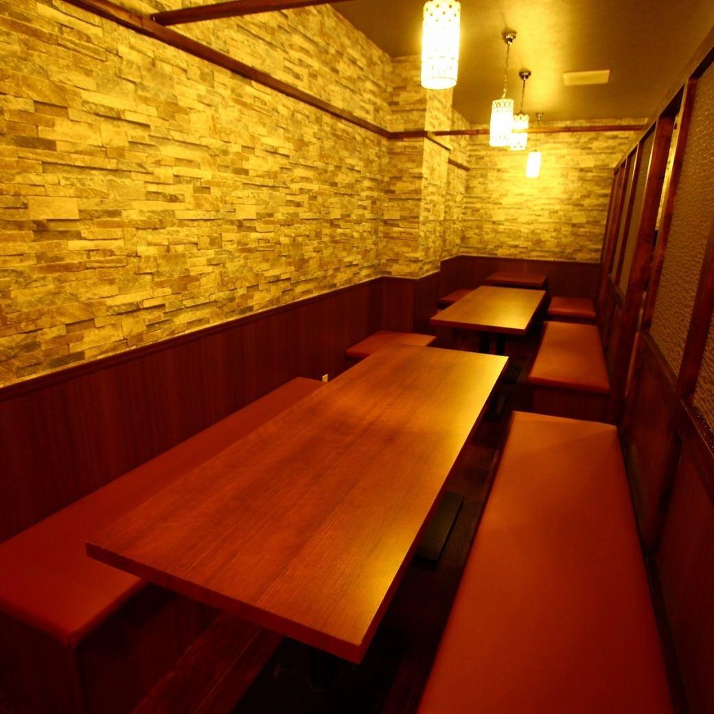 【池袋夜景】を愉しめる窓際個室は大人気!要予約!
