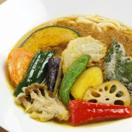 Curry udon · soba