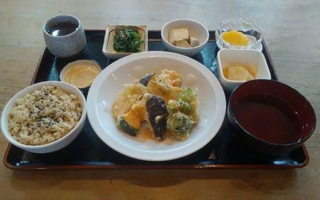 野菜天ぷらの甘辛酢