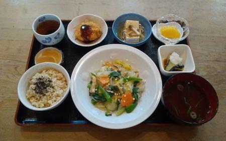 野菜の中華風炒め物