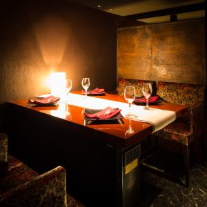 完全個室を多数ご用意しておりますので落ち着いた雰囲気の中、お食事やおしゃべりをお楽しみいただけます♪