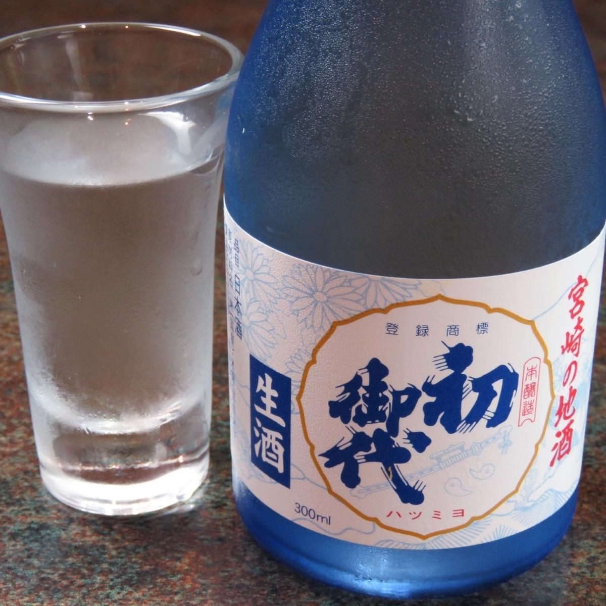 <Cold Sake> First Mission 300 ml