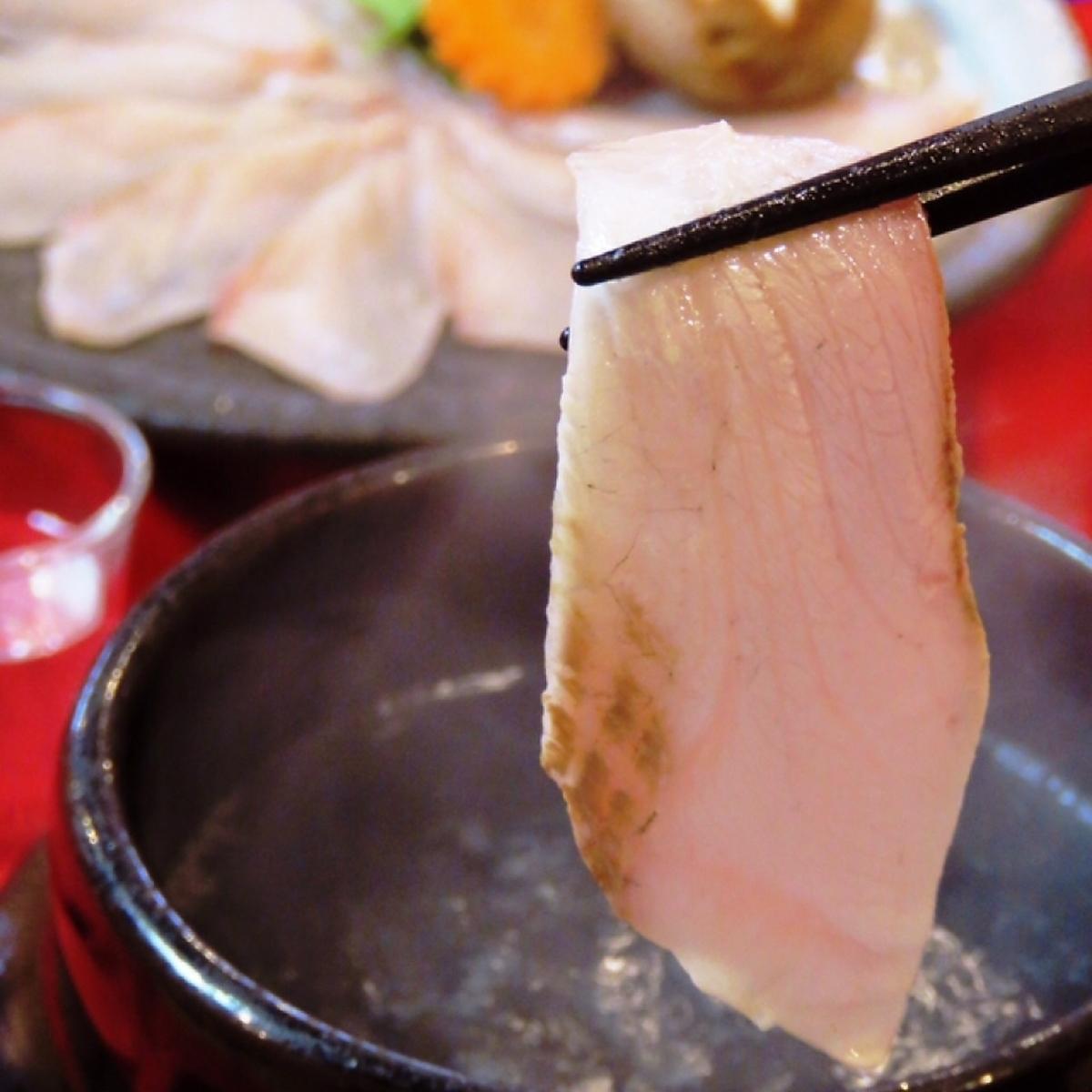 鮪 Rare Grill ~ Grilled Black Pepper ~ / Shin Baby Shabu-shabu