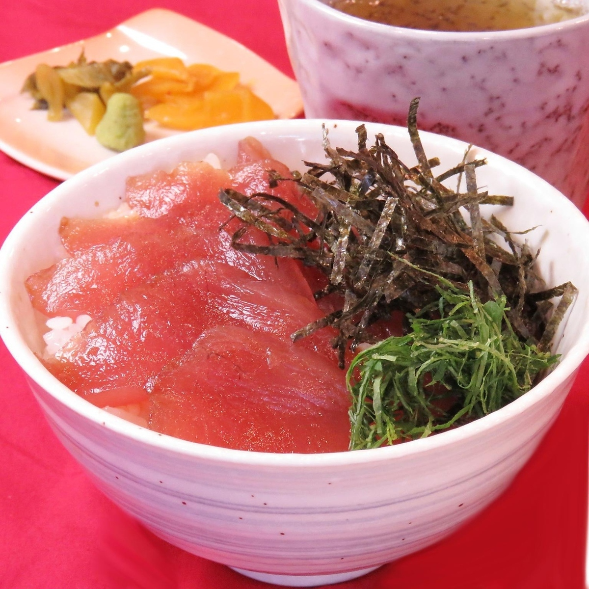 Tuna mini rice bowl
