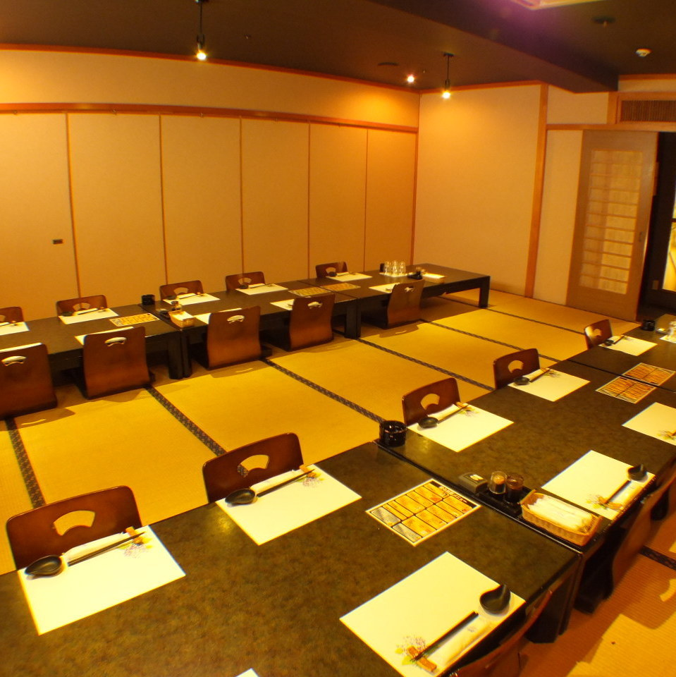 You can use it by renting a spacious room for the big party.Space between seats is spacious ♪ We are using for various banquets! Up to 120 banquets for banquet! Please leave a large banquet!