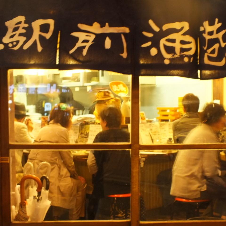 【1樓座位】在街上忙碌的商店......♪在熱鬧的商店裡吃飯!氣氛是其中的樂趣之一!