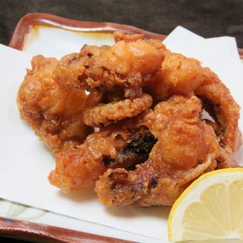 Deep-fried octopus