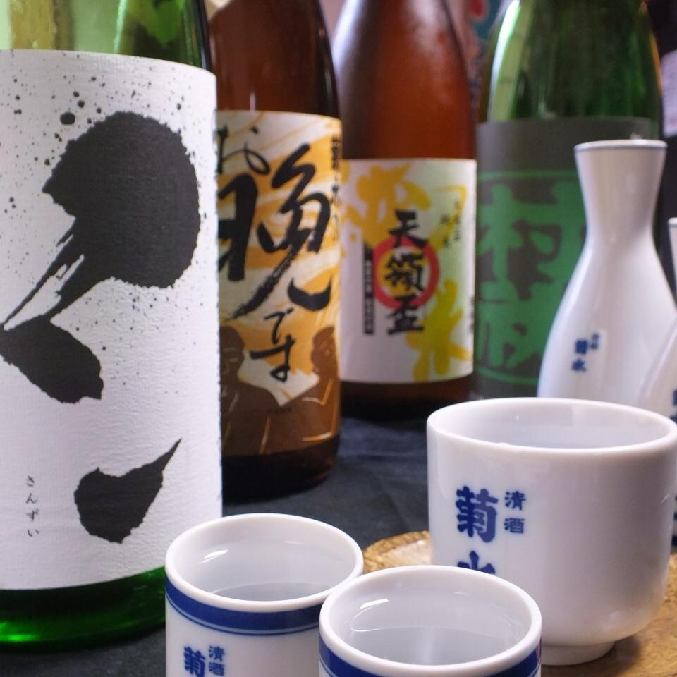 隨著全友暢飲套餐,包括10種新潟巴庫!其他有限的酒......