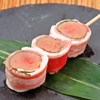 明太子豚バラ