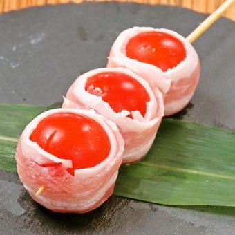 トマト豚バラ