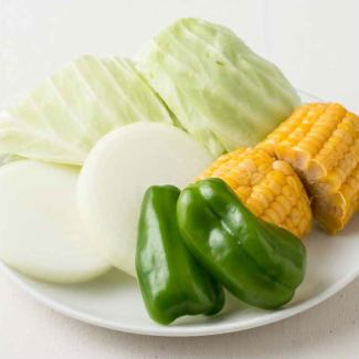焼野菜盛合せ