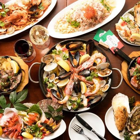 Fresh seafood x vegetables x meat x wine shop ■ 2 hours with all you can drink from 3,500 yen ~ We are preparing!