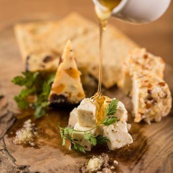 什锦3种精心挑选的奶酪