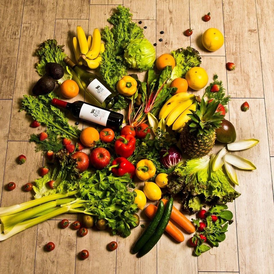 고기뿐만 아니라 「야채」도 구매에서 고집합니다