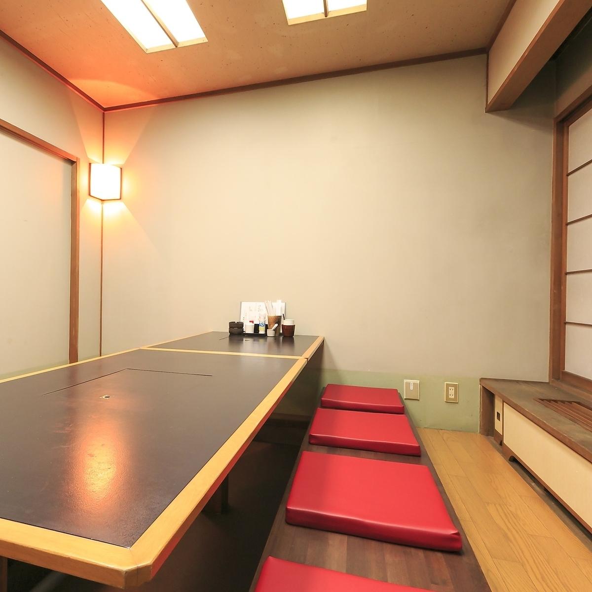 [2楼] 2至10人的私人房间丰富★8人和6人的私人房间宴会约15人