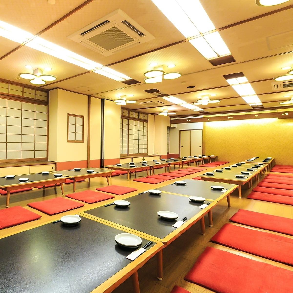 [4楼]大宴会厅★12人·24人·32人·4人50人(最多可容纳170人)