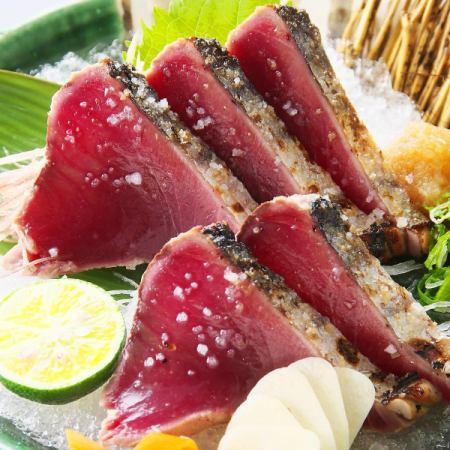 Bon鱼(Tataki / Salt Tataki)