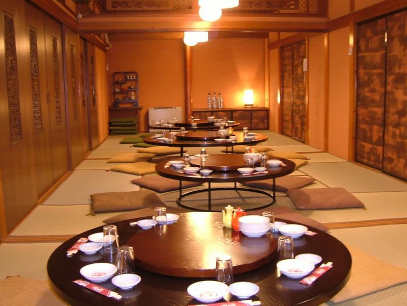 Up to 40 banquet halls on the second floor are safe.It's a private room so I can do it slowly.All-you-can-drink all-you-can-eat course with 5000 yen including tax is popular.
