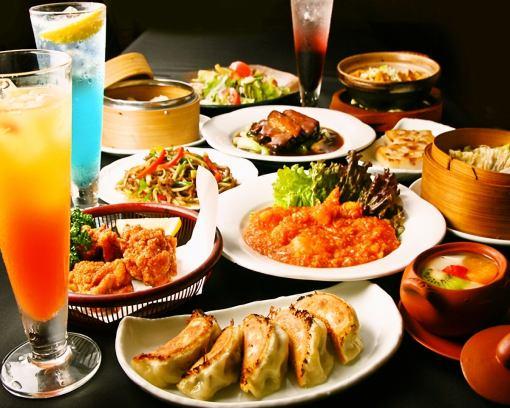 ■流利的中国菜■浓郁的浪漫套餐(共7种产品)/ 2小时饮料通常正常5400日元→5000日元