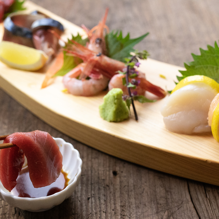 Assorted sashimi platter 5 kinds