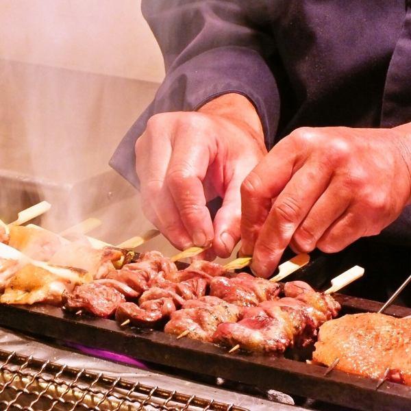 【數量有限,需要預約!】天草大王的豪華烤雞串5種口味