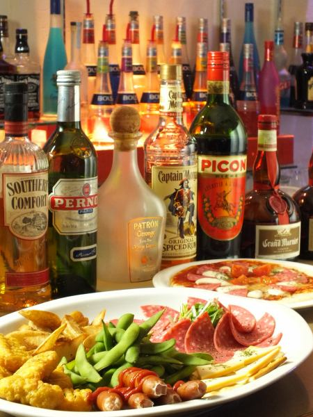 Various second-party plans · hors d'oeuvres
